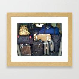 Traveling Heavy Framed Art Print