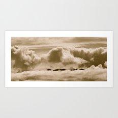 Floatilla Art Print