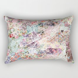 Birmingham map Alabama Rectangular Pillow
