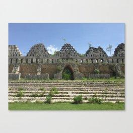 Uxmal Ruins Canvas Print
