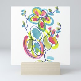 Entwining Vines Mini Art Print