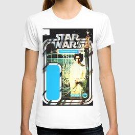 Princess Leia Vintage Action Figure Card Star War T-shirt