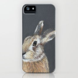 The Hares Stare iPhone Case