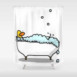 Tub Time Shower Curtain