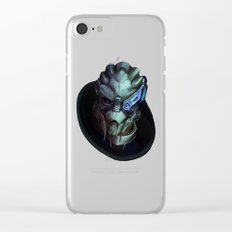 Mass Effect: Garrus Vakarian Clear iPhone Case