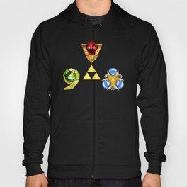 The Timeless Legend of Zelda Inspired Spiritual Stones Hoody