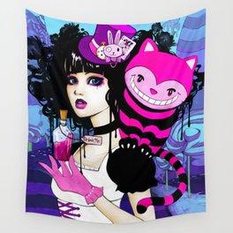 Alice Returns to Wonderland Wall Tapestry