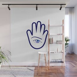 Hand of a fortune teller Wall Mural