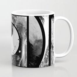 Abstract Geometric Studies In Black And White Coffee Mug