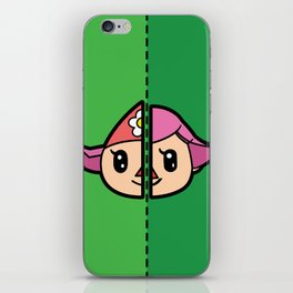 Old & New Animal Crossing Villager Female iPhone Skin