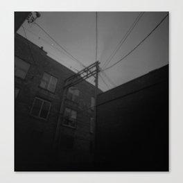 Power Corner Canvas Print