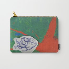 Splattering of the Heart Carry-All Pouch