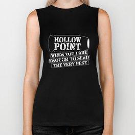 Hollow Point Gun Ammo Funny 2Nd Amendment Gun Control Bullet Gun   t-shirts Biker Tank