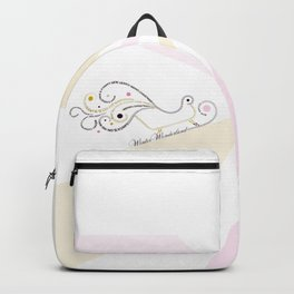 Typographic Christmas Sleigh Backpack