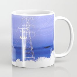 Electric blues Coffee Mug