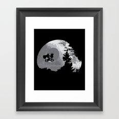ET Wars Framed Art Print