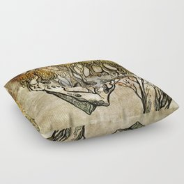 Crying Dryad Floor Pillow