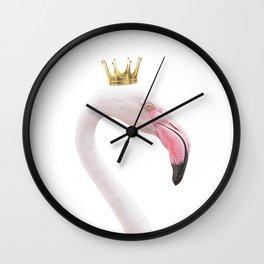 Flamingo Queen Wall Clock