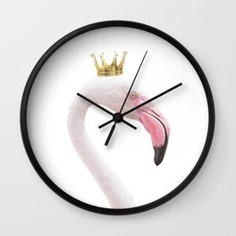Flamingo Queen Wall Clock