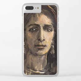 La Veronica Clear iPhone Case