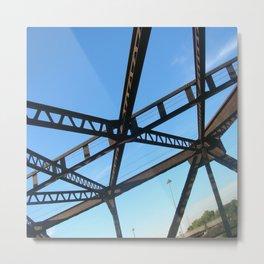 Bridge in Mpls Metal Print