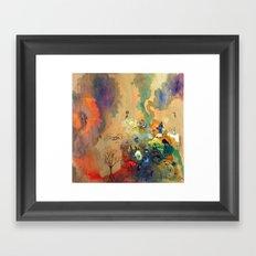 Garbage Heap Framed Art Print