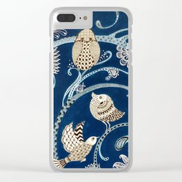White Birds Clear iPhone Case