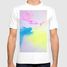 Washes IV White Mens Fitted Tee MEDIUM