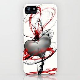 umarme mein Herz iPhone Case