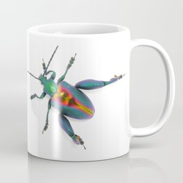 Frog-legged Beetle... Oh-so-shiny! Coffee Mug