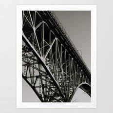 Aurora Bridge Art Print