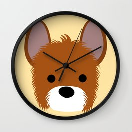 Dog lover #02 Wall Clock