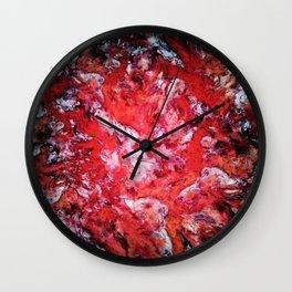 Red navigation light Wall Clock