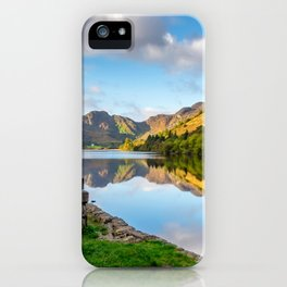 Crafnant Lake Obelisk iPhone Case