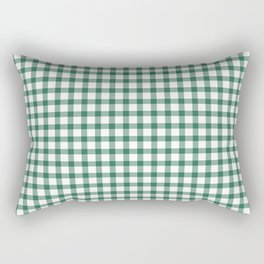 Esmeralda Gingham Rectangular Pillow