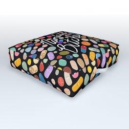 Namaste Bitches - Pill Series Outdoor Floor Cushion