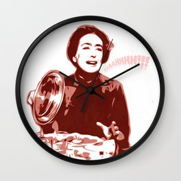 Joan Crawford - Aaaahhhh!!! - Pop Art Wall Clock