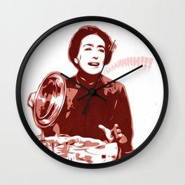 Joan Crawford - Aaaahhhh!!! - Pop Art Wall Clock