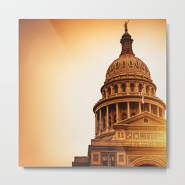 austin capital hill Metal Print
