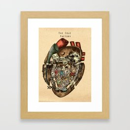 The Idle Factory Framed Art Print