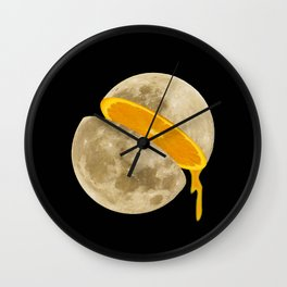 Lunar Moon Fruit Wall Clock