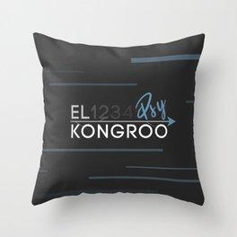 Kongroo Steins Gate Throw Pillow
