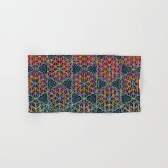 The Flower of Life (Sacred Geometry) 5 Hand & Bath Towel
