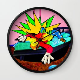 The Visual Existentialist Wall Clock