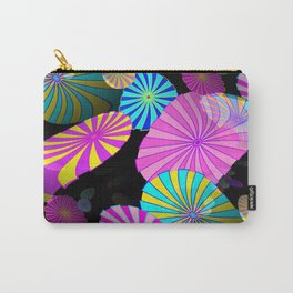 Floating Shapes Carry-All Pouch