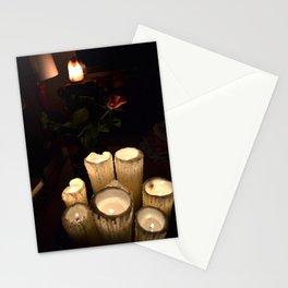 melting candles Stationery Cards