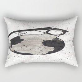 Planet earth Rectangular Pillow