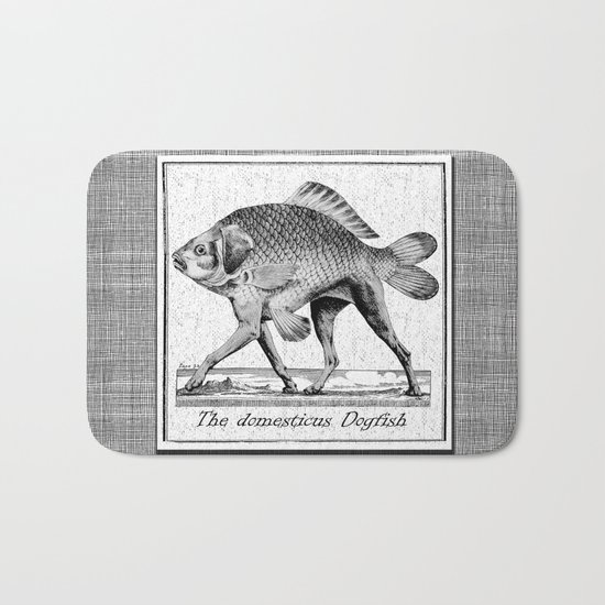 If fishes had legs Bath Mat