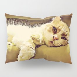 Life Is So Exhausting, I think I'll Just Have A Little Nap Pillow Sham