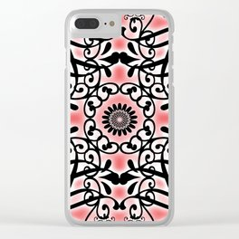 Tudor Rose Clear iPhone Case